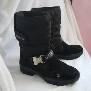 Coach Sandi winter boots.